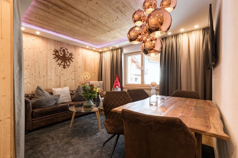 Wohnraum Appartement De Luxe Tyrol