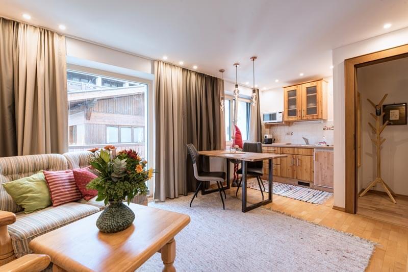 Wohnraum Appartement Galzigblick